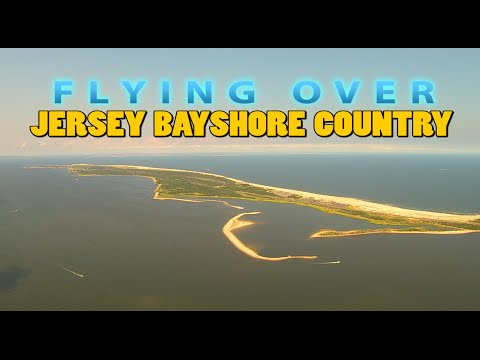 Flying Over Jersey Bayshore Country