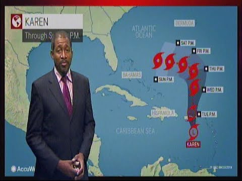 Caribbean Travel Weather - Tuesday September 24th 2019