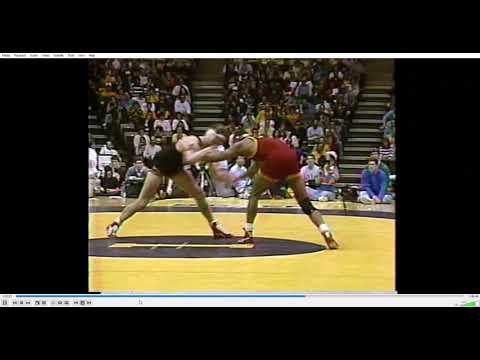 College Wrestling - 1988 #1 Iowa State At #2 Iowa (2nd Half) 2/2