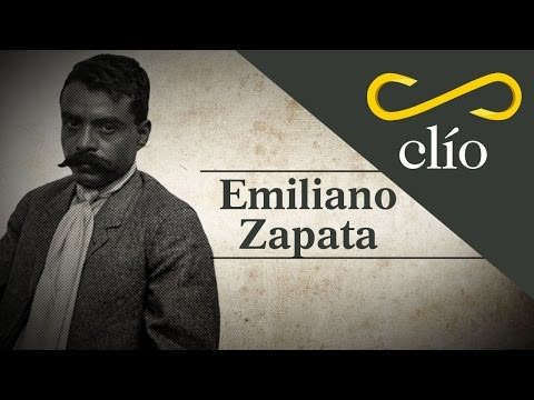 Minibiografía: Emiliano Zapata