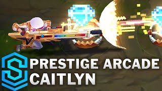 Prestige Arcade Caitlyn Skin Spotlight - Pre-Release - League of Legends