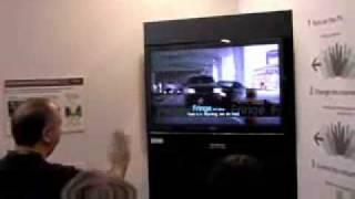 تلفزيوون بدون ريموت آخر تطورات اليابان من شركه هيتاشي