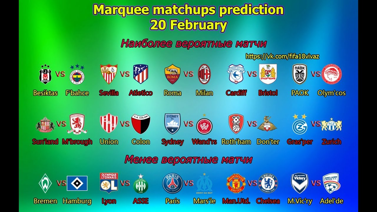 Marquee Matchup Prediction