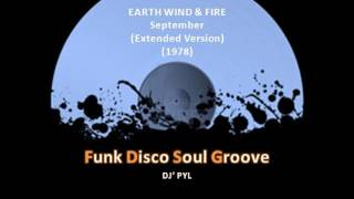 EARTH WIND & FIRE - September (Extended Version) (1978)