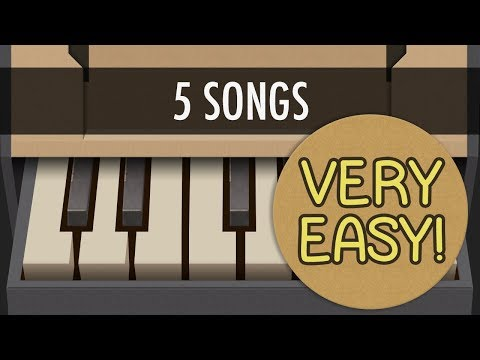 NINTENDO LABO Piano - How to Play 5 VERY EASY Songs