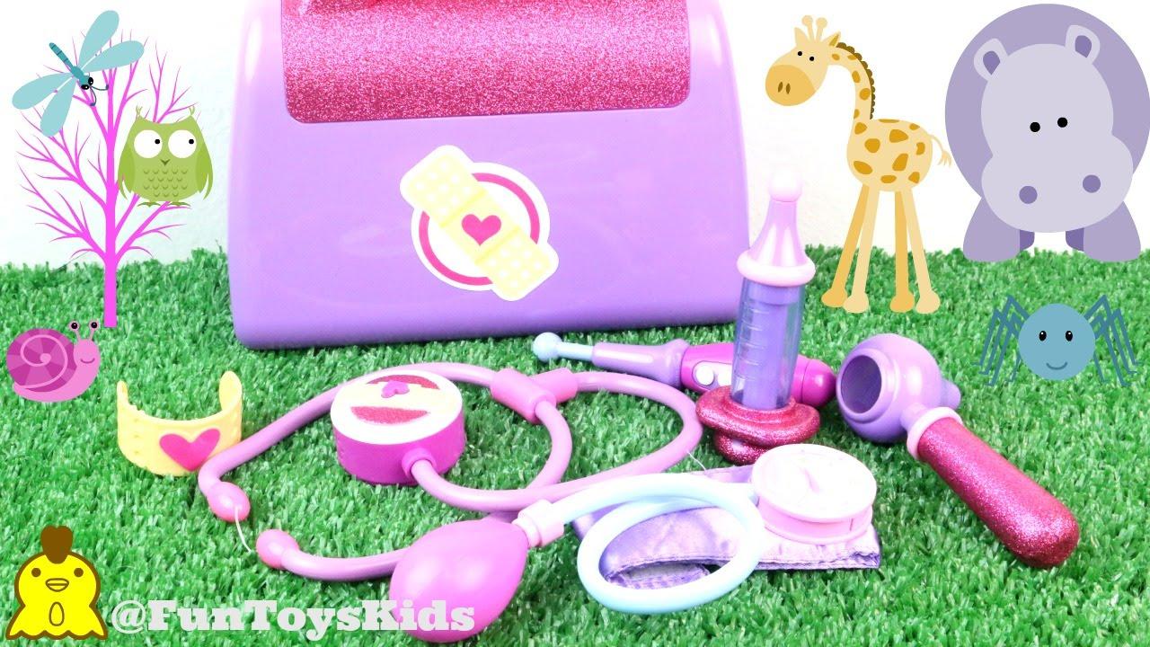 Maleta Da Doutora Brinquedo Toys Doc Mcstuffins Funtoyskids Youtube