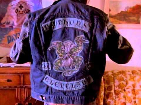 Outlaw biker Charlie Sheen gears up.