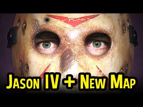 Friday The 13th DLC! - New Jarvis House Map + Part IV Jason Gameplay (Friday The 13th DLC Gameplay)