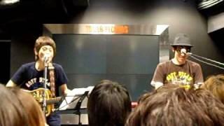20090222 ホフディランニューピース インストアライブ@タワーレコード...