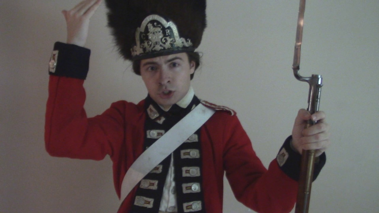 Where to Buy a Soldier's Uniform from the 18th Century