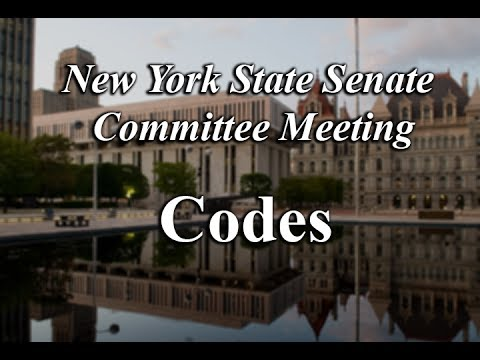 Senate Standing Committee on Codes - 05/23/17