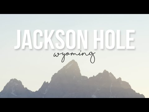 Exploring Jackson Hole, Wyoming - a Drivin' & Vibin' Travel Vlog