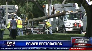 Power outages still widespread across Florida