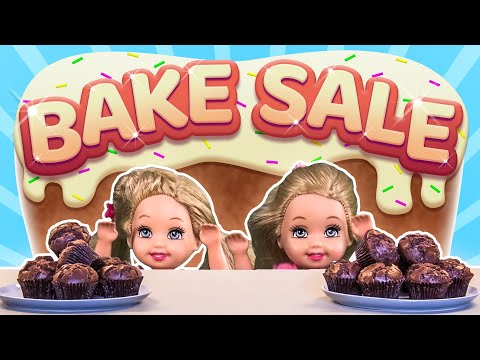 Barbie - The Twins' Bake Sale | Ep.82