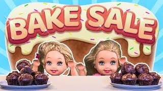 Barbie - the twins' bake sale