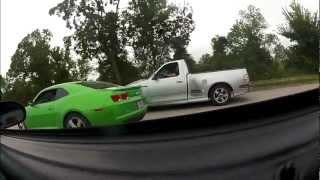 Mustang vs. Camaro vs. Lightning, Street Racing