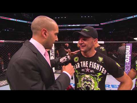 Fight Night San Antonio: Cub Swanson Octagon Interview