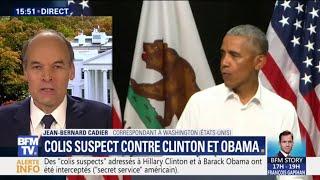 Ce que l'on sait des colis suspects adressés à Hillary Clinton et Barack Obama