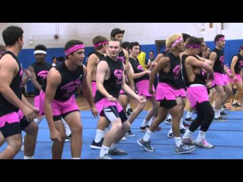 Spring-Ford High School 9th grade pep rally 2015