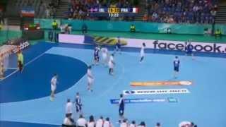 island vs france 8Th (2nd half) handball 2013