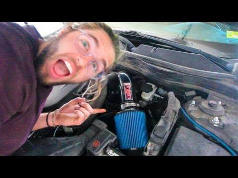 Loud Intake Turbo Sounds Kia Optima Sx Install
