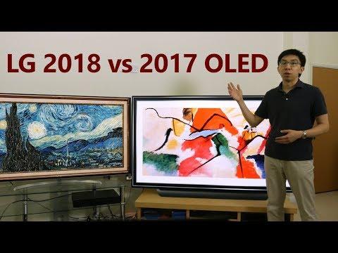 LG C8 (2018) vs 2017 OLED TV (B7/ C7)