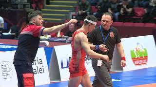 Роман Власов (Россия) - Божо Старчевич (Хорватия), квалификация