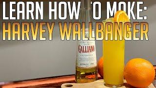 Hoe Maak je Een Harvey Wallbanger | AJ De Barman