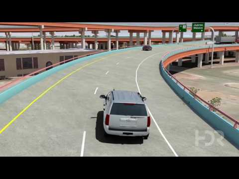 3-D Animation of I-10 Connect in El Paso