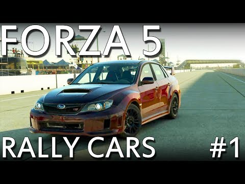 Forza 5 - Production Rally Cars - Part 1 (Xbox One Exclusive)
