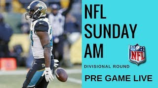 NFL Divisional Round Pre Game | Jags vs Steelers and Vikings vs Saints