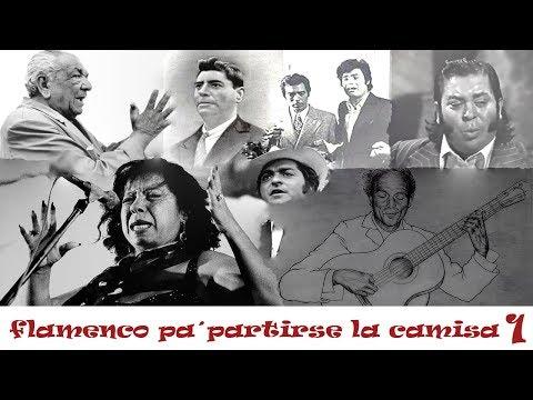 FLAMENCO PA´PARTIRSE LA CAMISA(1) - AGUJETAS, TERREMOTO, PERRATE, CARACOL, PERLA, DIEGO DEL GASTOR..