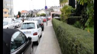 Моя прогулка по кварталу Senhora Da Hora, Porto, Portugal