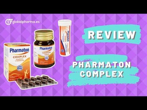 son buenas las vitaminas pharmaton complex