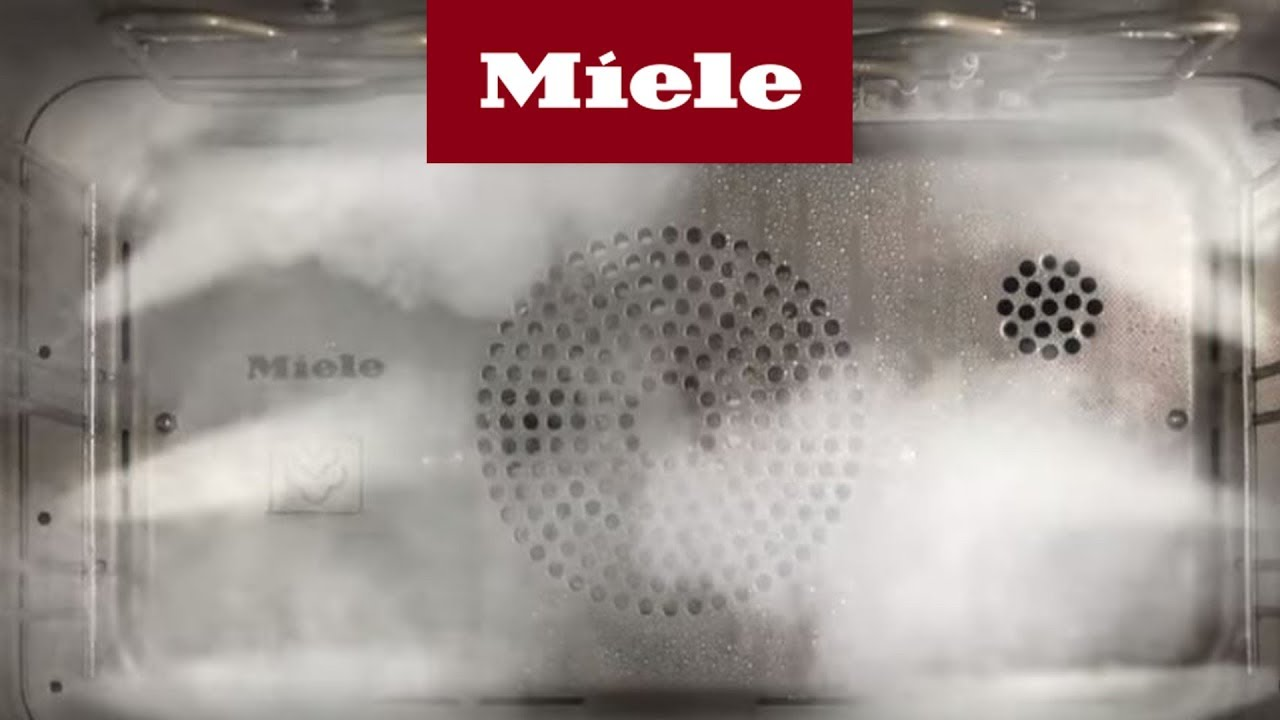 dampfgarer mit backofen ifa 2014 miele youtube. Black Bedroom Furniture Sets. Home Design Ideas