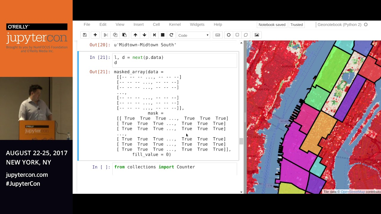 Image from GeoNotebook: An extension to the Jupyter Notebook for exploratory geospatial.. - Chris Kotfila