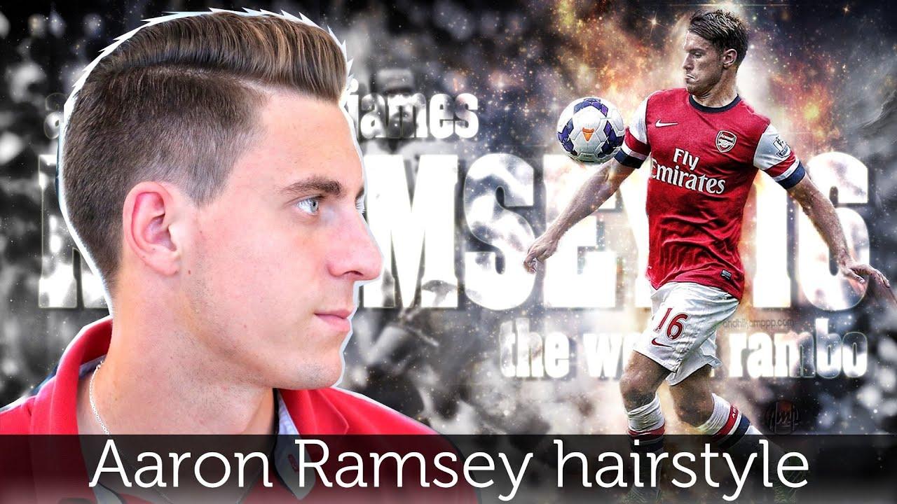 Aaron Ramsey Hair Tutorial Mens Hairstyle Inspiration Slikhaar
