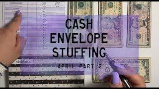 Cash Envelope Stuffing, April pt. 2 | Dave Ramsey Inspired | BudgetWithBri