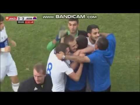 Macedonia U21 - Armenia U21 3:3 (highlights)