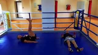 Видео отрывки DVD курса Уроки Тайского бокса с Тагиром Тугушевым