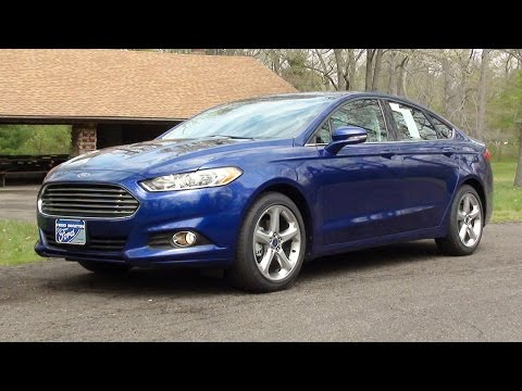 MVS - 2016 Ford Fusion SE (With Road Test)