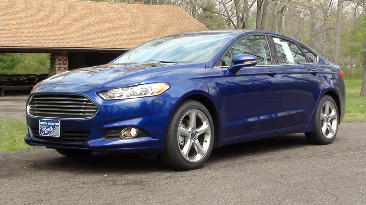 mvs 2016 ford fusion se with road test youtube. Black Bedroom Furniture Sets. Home Design Ideas