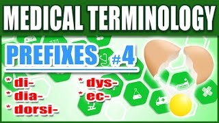 Medical Terminology Prefixes 4 | Memorize Nursing Dictionary Biology Words Made Easy for Beginners