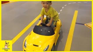 Tayo Bus Kids Cafe Amusement Park Audi BMW Car Ride Indoor Playground Fun Play | MariAndKids Toys