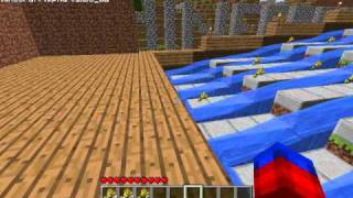Minecraft Automatic Wheat Farm