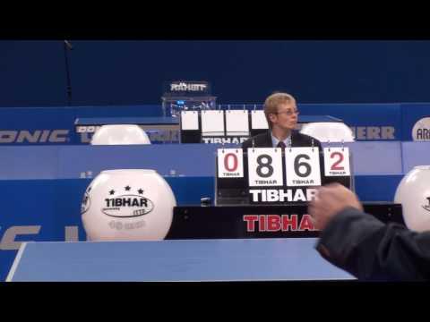 Table Tennis EM 2009 Stuttgart  Samsonov, Vladimir Bel WM Finalist 1997    Pavelka, Tomas  Czech Rep