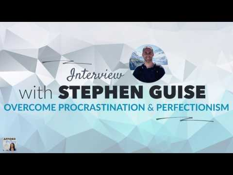 overcoming-procrastination-and-perfectionism,-with-stephen-guise- -afford-anything-podcast-(ep.-#48)