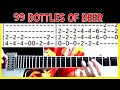 guitar lessons online 99 Bottles of Beer on the Wall tab