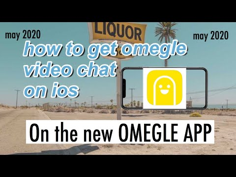 OMEGLE VIDEO CHAT ON IOS! | OMEGLE APP (MAY 2020)