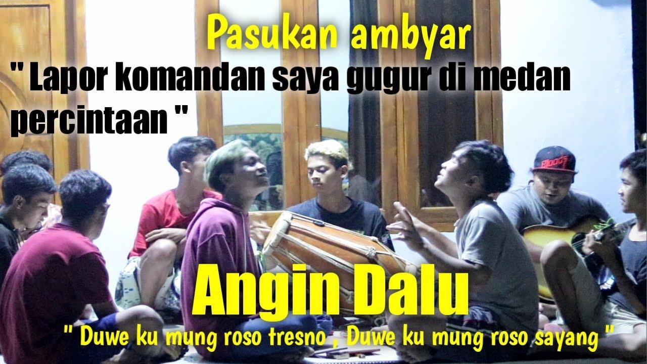 Angin Dalu cover kendang jaipong / cover kentrung / Lapor komandan saya gugur di medan percintaan